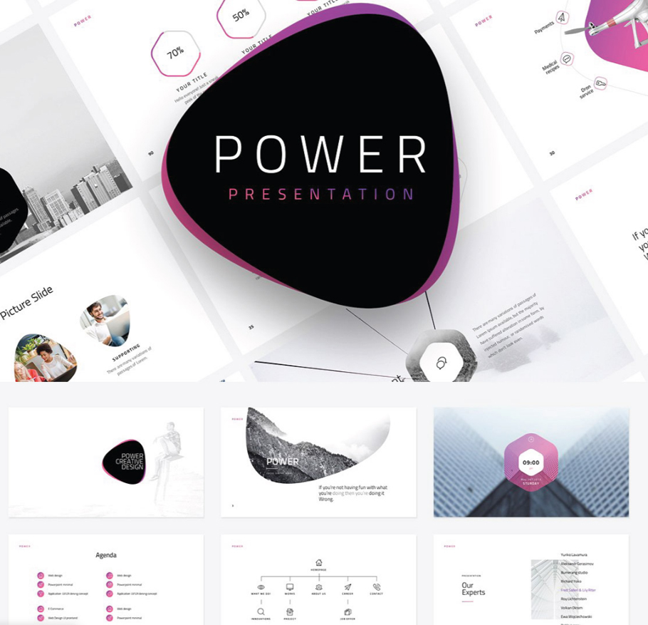 Free business powerpoint templates 10 impressive designs power free business powerpoint templates friedricerecipe Images