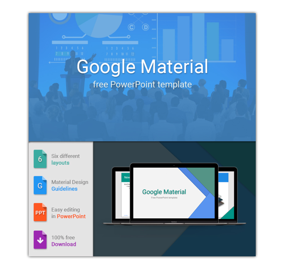 Free Business PowerPoint Templates Impressive Designs - Google design templates