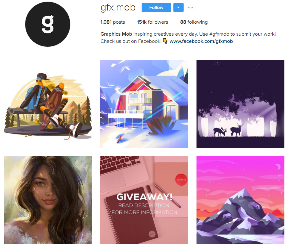 15 Art Profiles to Follow on Instagram for Insta(nt) Inspiration