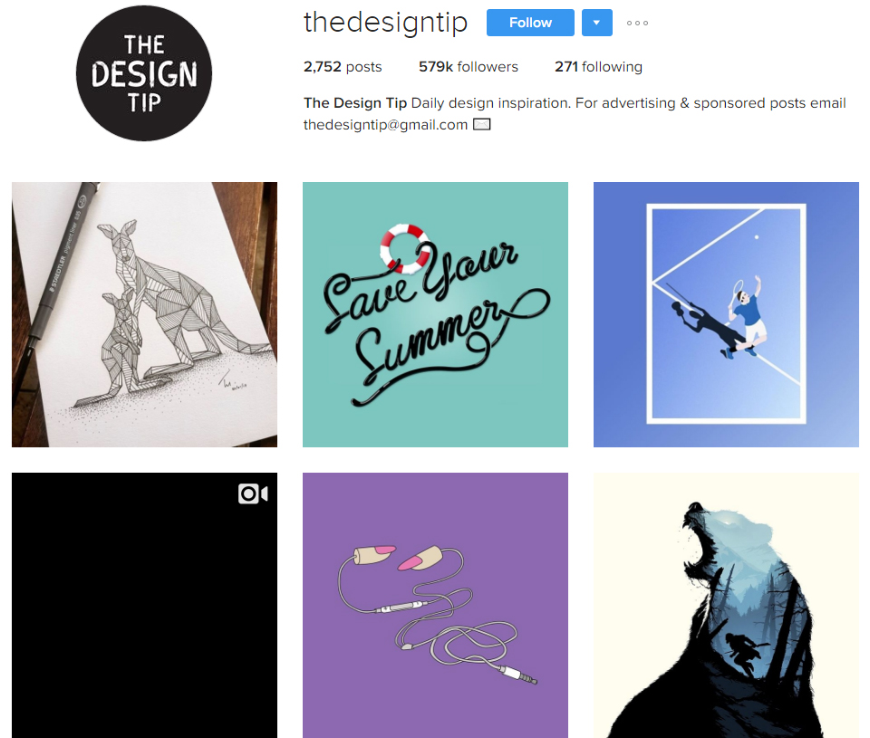 graphic design profile picture
