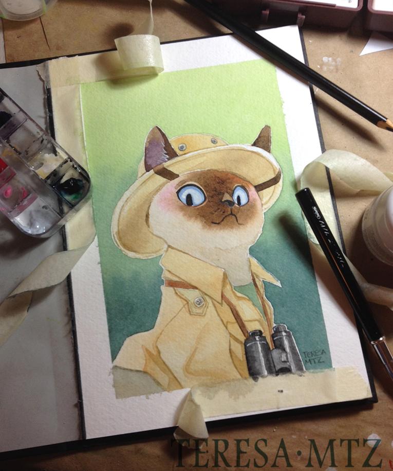 watercolor-cat-explorer