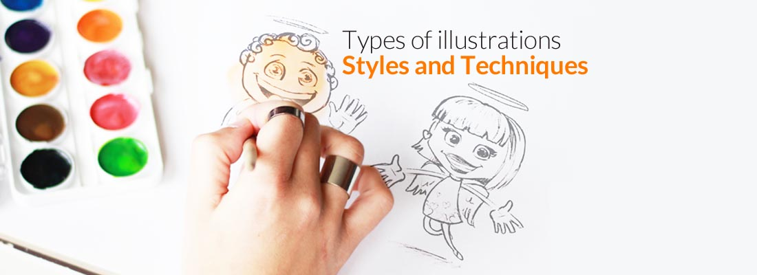 Types of Illustration – Styles and Techniques