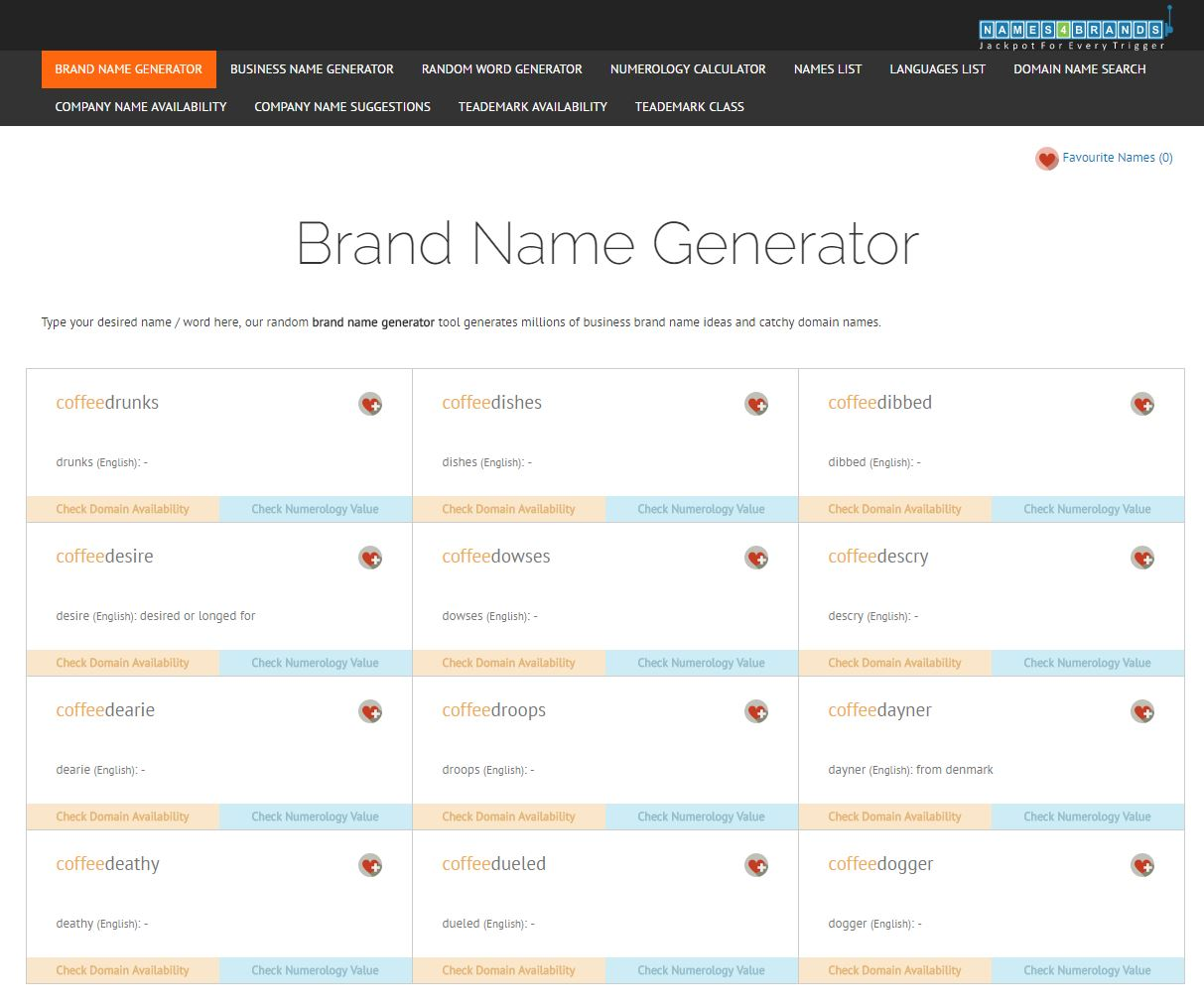 names4brands-one of the brand-name-generators