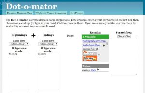 dotomator-one of the brand-name-generators