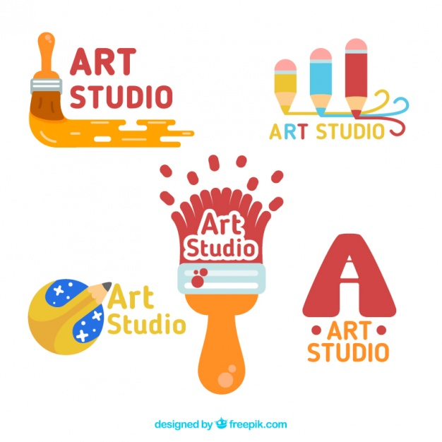 pack-of-enjoyable-art-studio-logos