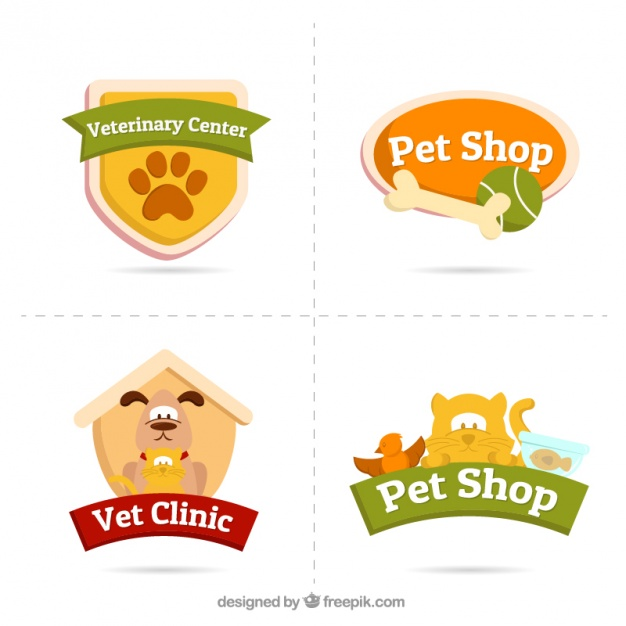 pet logos-with-animals