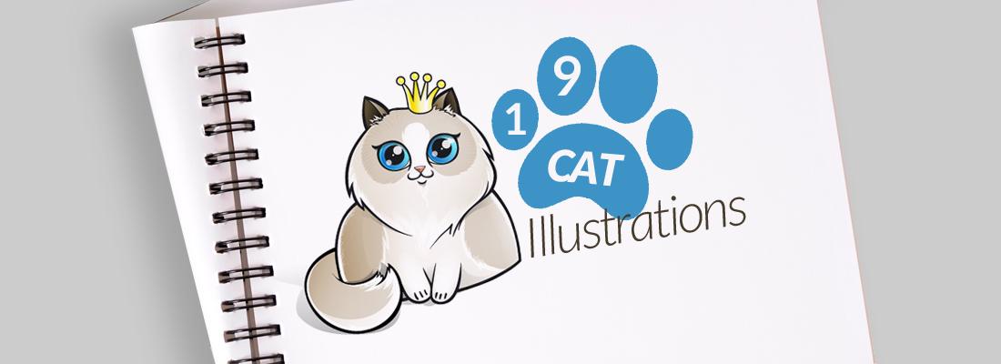 19 Cat Illustrations For A 9 Life Lasting Inspiration Graphicmama Blog