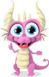 cute-pink-dragon
