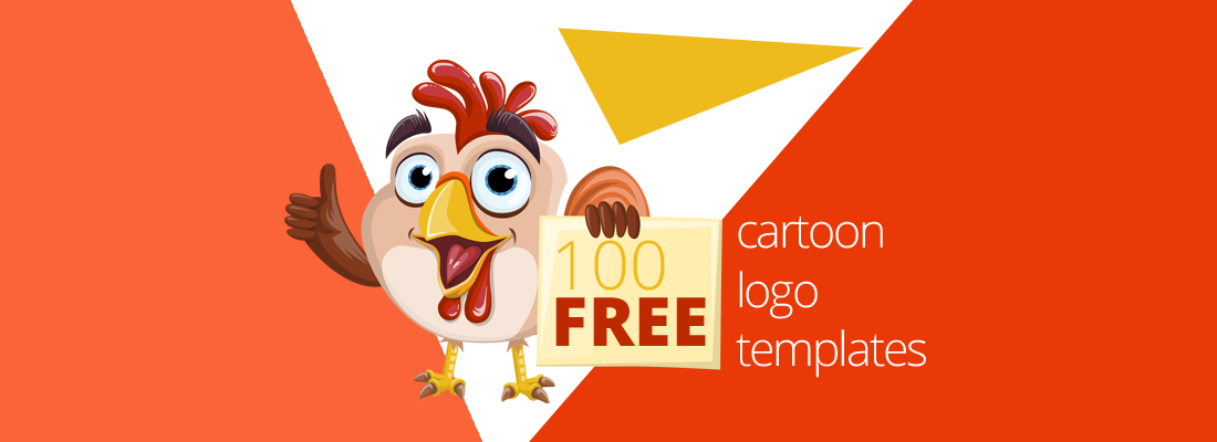 100 free cartoon logo templates for fun tastic projects