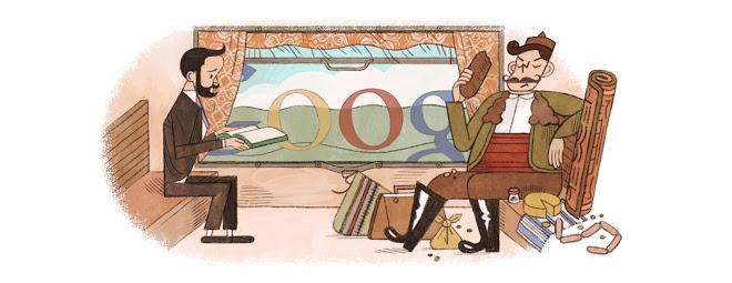 Top 15 Most Artistic Google Doodle Illustrations: Aleko Konstantinov Bai Ganio