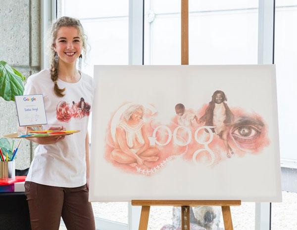 Top 15 Most Artistic Google Doodle Illustrations: Ineka Voigt Stolen Dreamtime