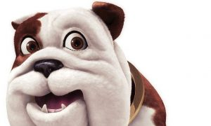 Churchill dog character mascots in advertising