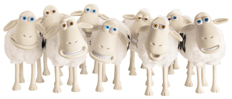 mascots in advertising sheep characters