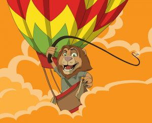 mascots in advertising lion character