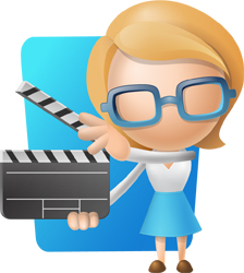3d-girl-shooting-a-movie