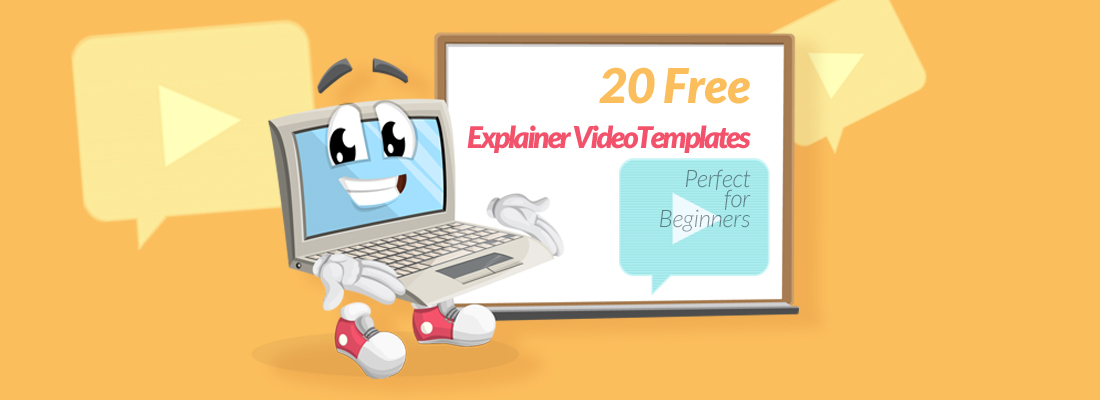 20 free explainer video templates perfect for beginners