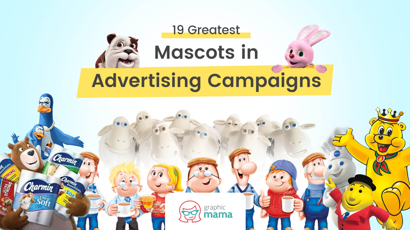 000ada5c87 19 Greatest Mascots in Advertising Campaigns + Today's Trends