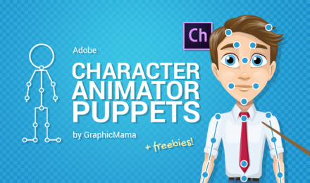 Adobe Character Animator Puppets by GraphicMama (+Freebies)