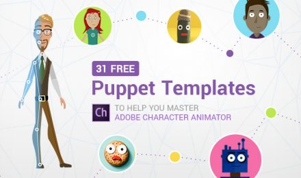 31 Free Adobe Puppet Templates to Help You Master Adobe Character Animator