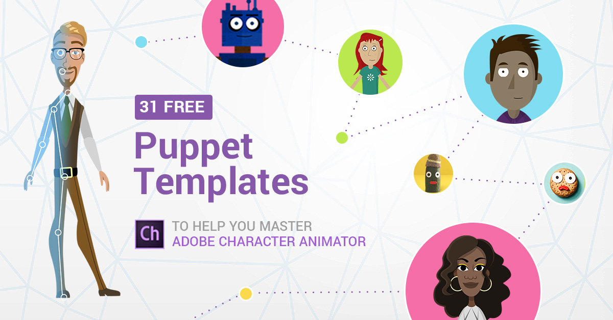 31 Free Adobe Puppet Templates to Help You Master Character