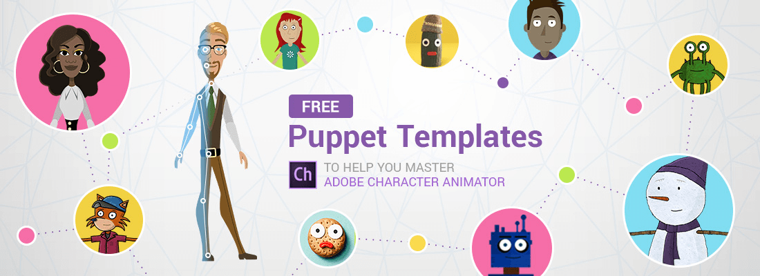 Free Adobe Puppet Templates for Adobe Character Animator