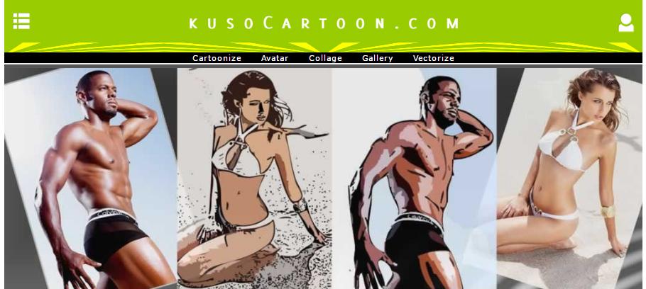 cartoon yourself with kusocartoon