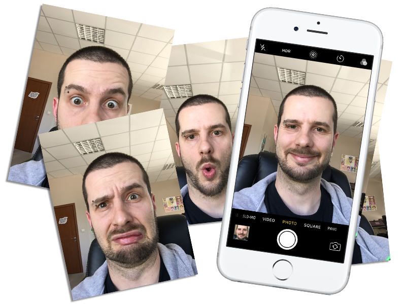create Adobe Character Animator puppet with Photoshop and Selfies