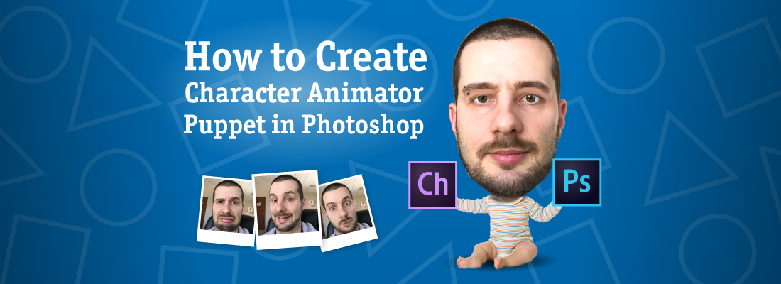 How to create Adobe Character Animator puppet with Photoshop