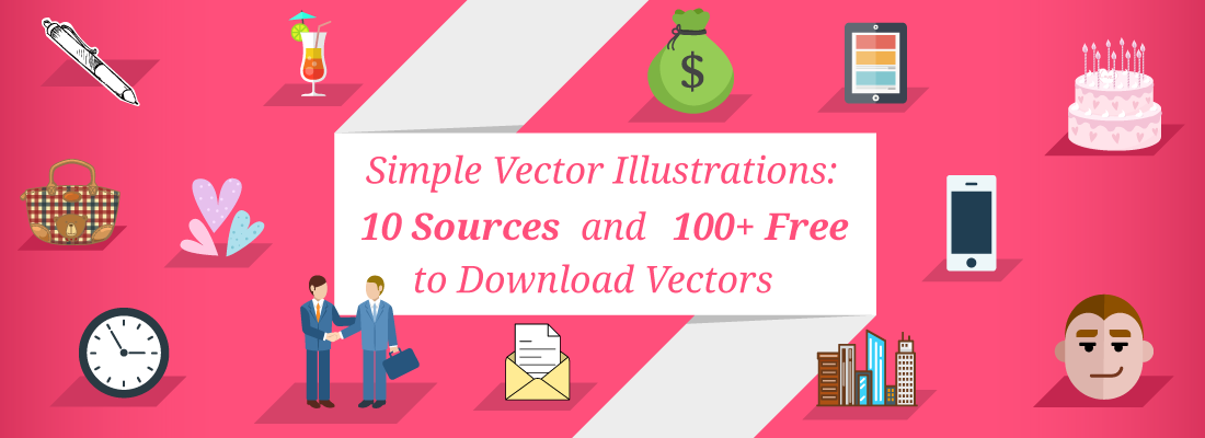simple vector illustrations