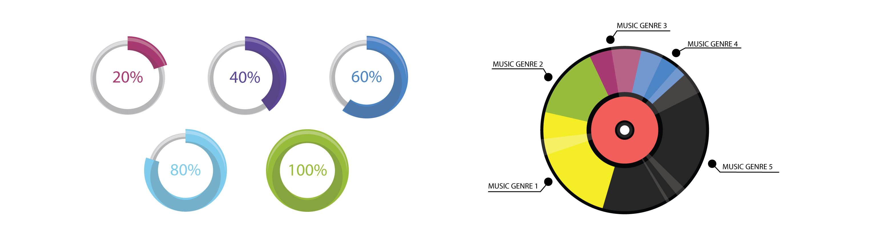 Data visualization techniques to make your data speak louder pie chart example nvjuhfo Gallery