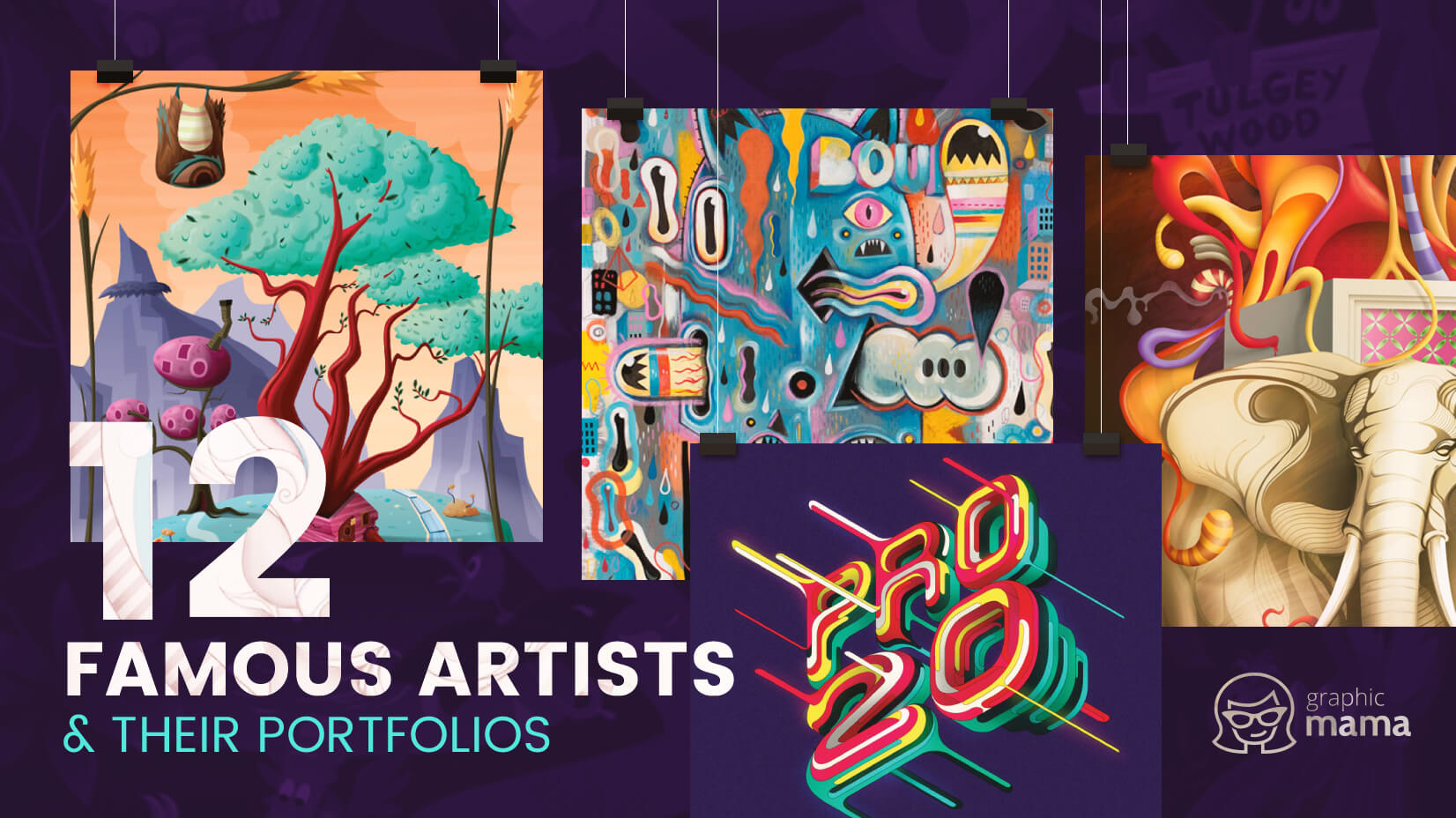 12 Famous Vector Artists and Their Mind-Blowing Portfolios
