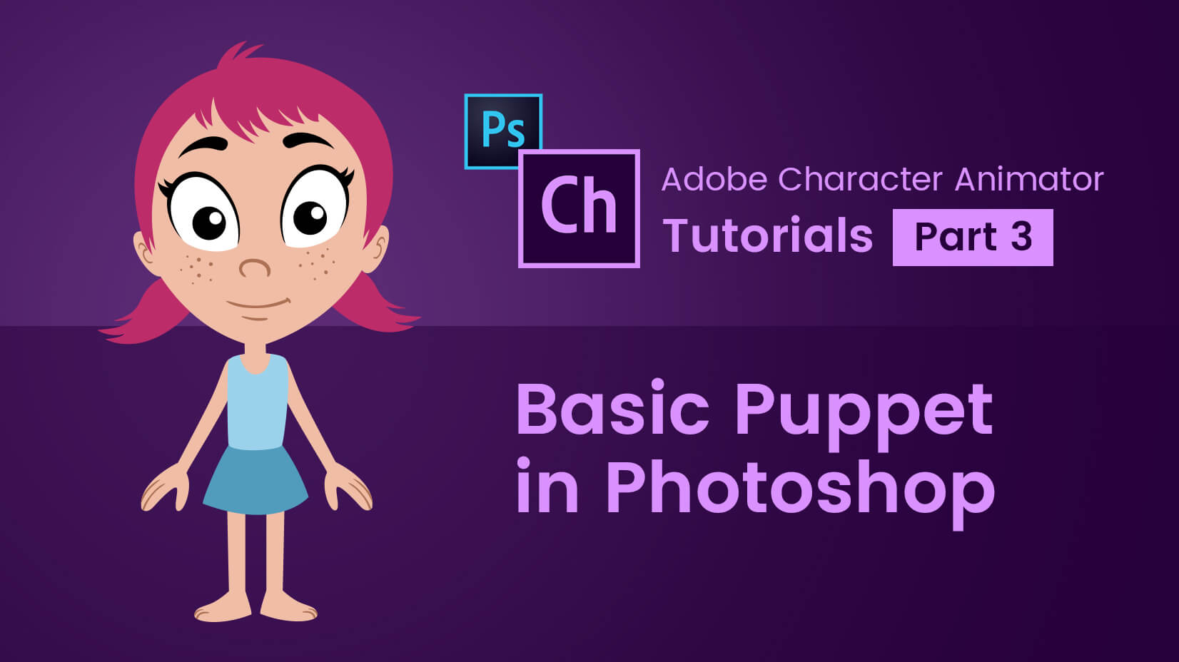 Character animator tutorials part 3 basic puppet in photoshop baditri Image collections