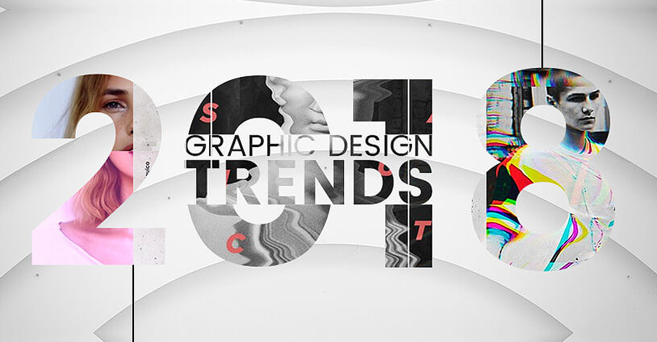 Clever Contradictions Interior Design Trends For 2018: Top Graphic Design Trends 2018: The Ultimate Guide