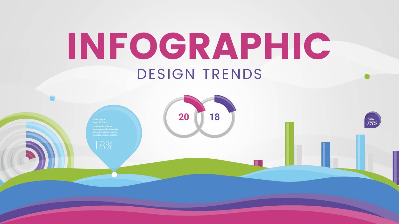 Infographic design trends 2018