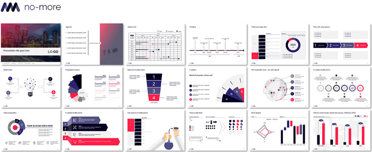 free powerpoint infographic template
