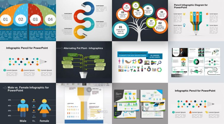 Free Infographic PowerPoint Presentation Templates