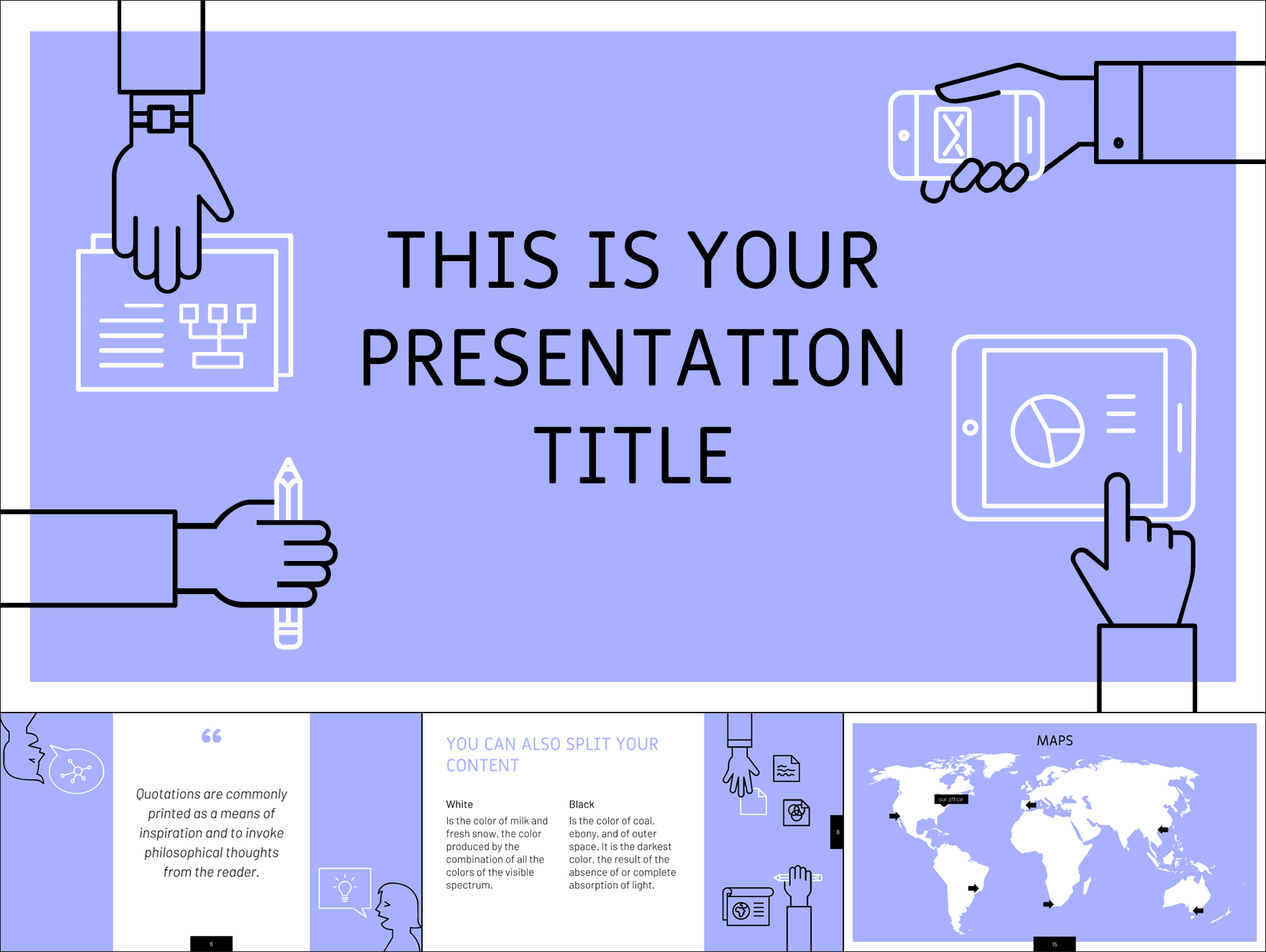 30 free google slides templates for your next presentation free template with conceptual outline illustrations toneelgroepblik Image collections