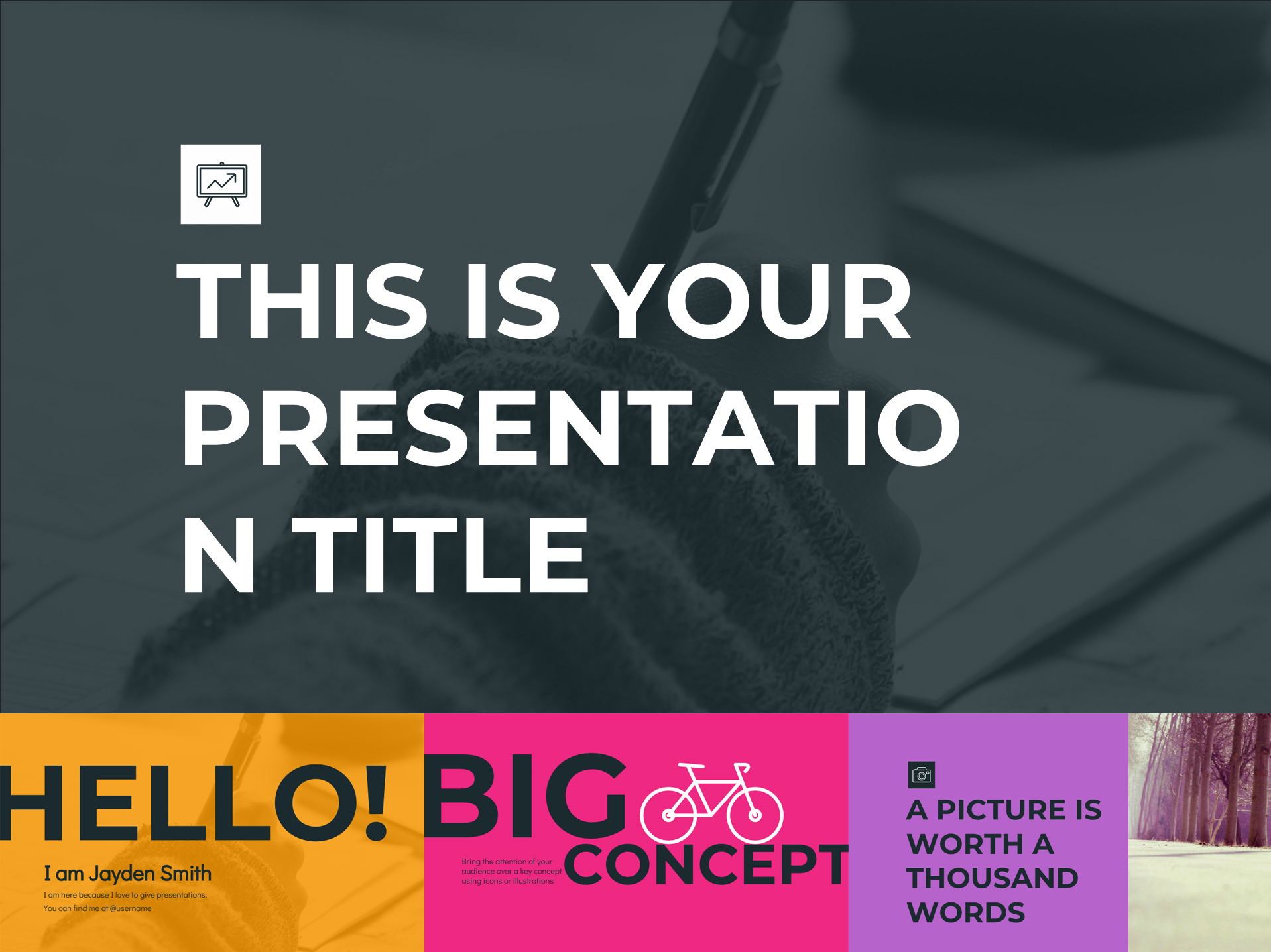 Rainbow Google Slides Templates Presentation