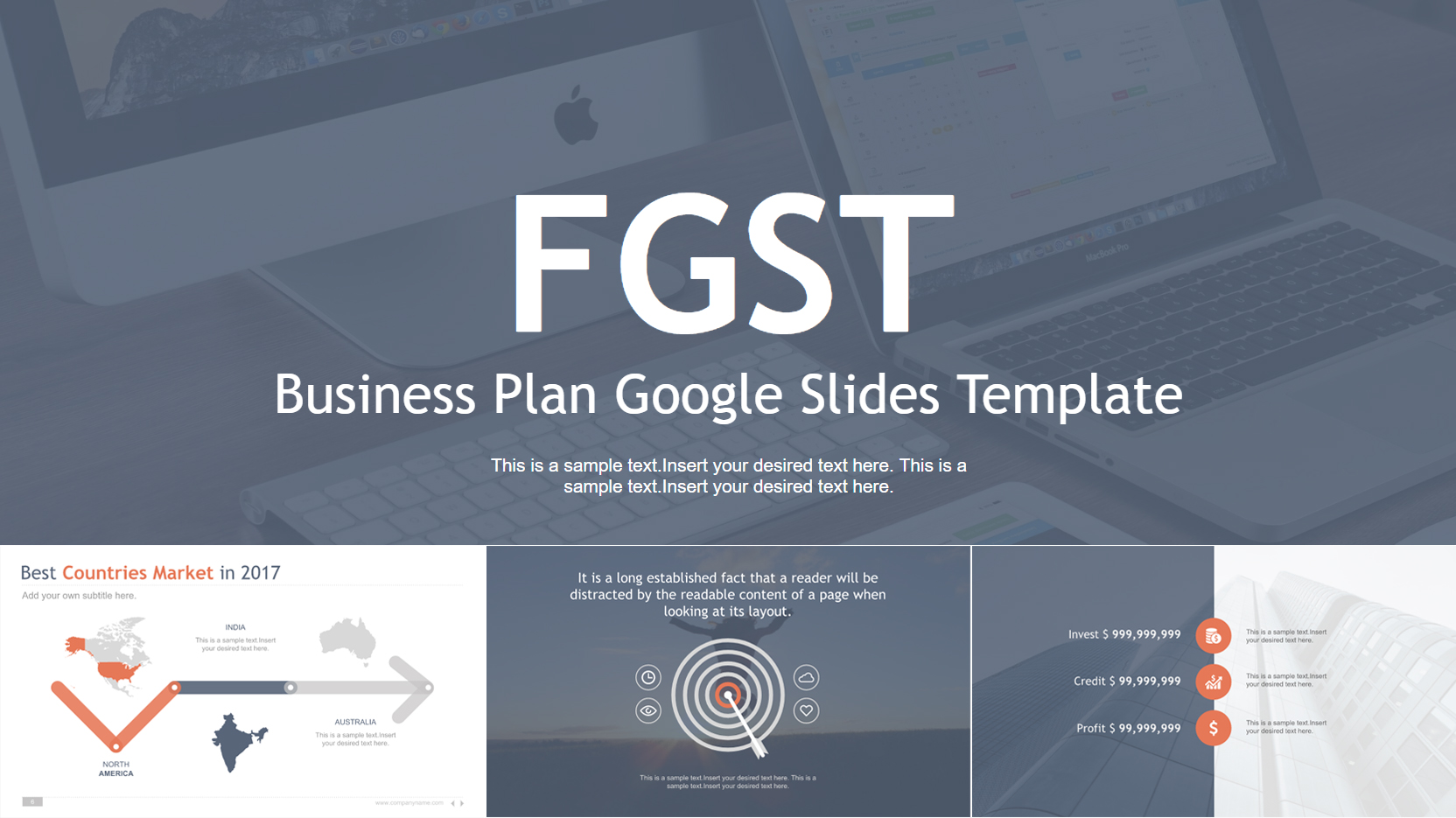 Business Themed Google Slides Templates