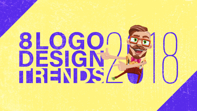 8 Logo Design Trends 2018: Stay at the Top of Your Game ...