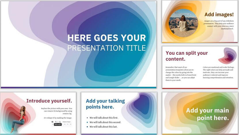 caynon free google slides presentation template