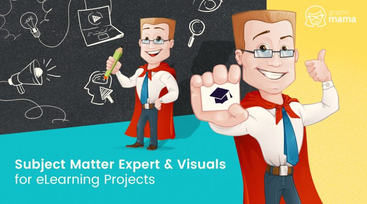 Subject Matter Expert and Visuals for eLearning Projects by GraphicMama
