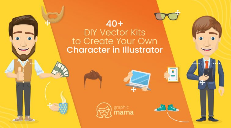 40+ DIY Vector Kits to Create Your Own Character in Illustrator