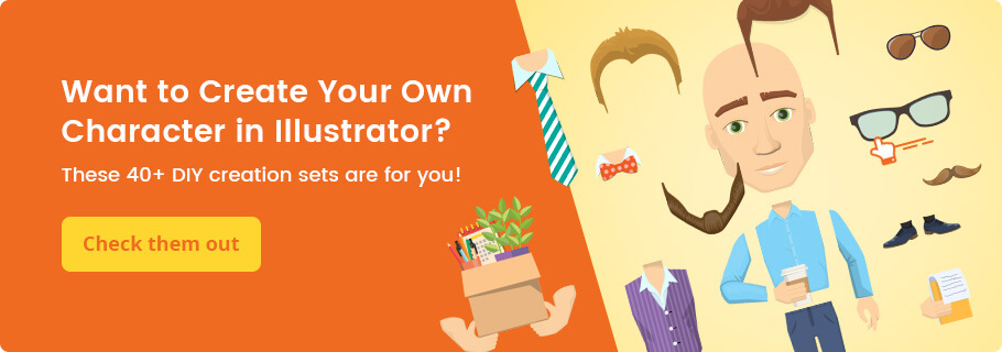 Make your own character in Adobe Illustrator