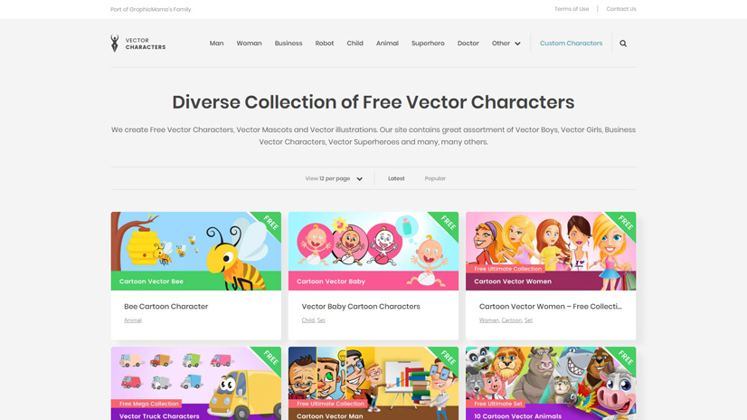 VectorCharacters Free Clipart For Teachers