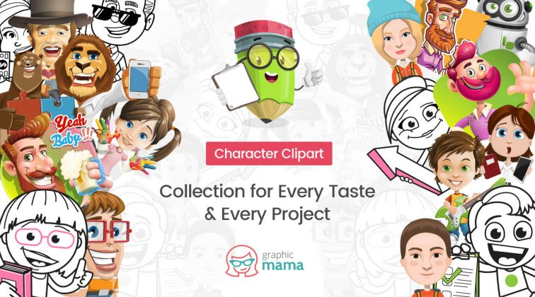 Character Clipart: a Collection for Every Taste & Every Project