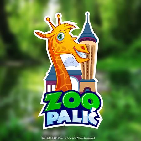 giraffe mascot logo