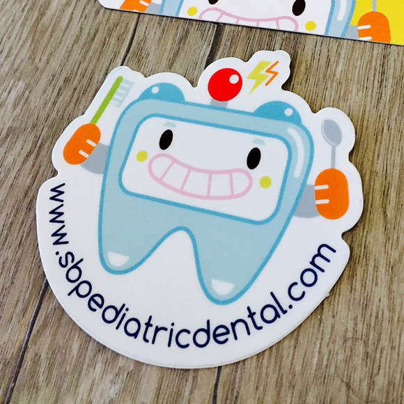 dental mascot logo tooth
