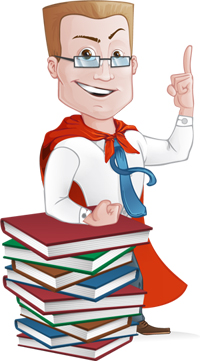 superhero subject matter expert by GraphicMama