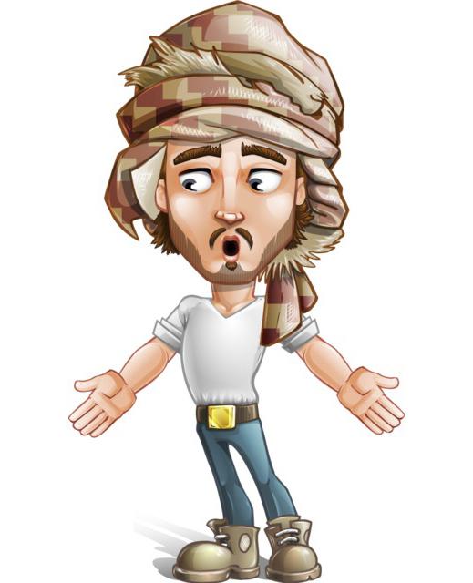 arabian character clipart free